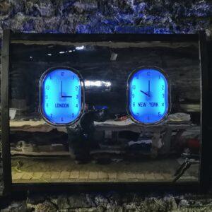 Fuselage Clocks twin