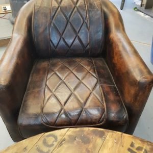 Leather Aviator Chair