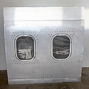 Plane Fuselage Wall Art