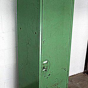 Green Storage Locker