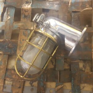 Japanese Ships Light - Aluminium & Brass