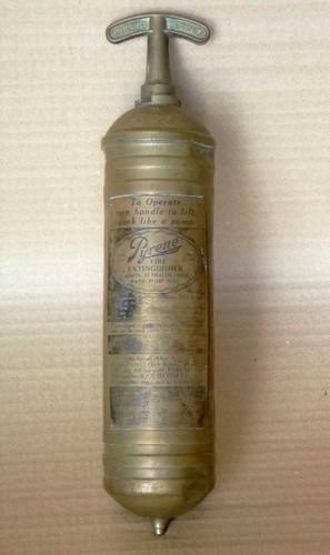 Brass Fire Extinguisher (mini)