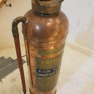 USA Fire Hydrant - Standard Lamp