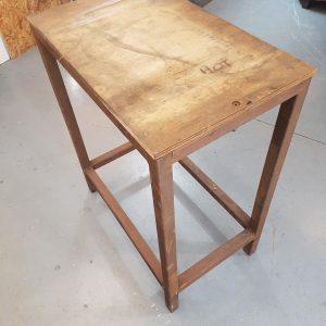 Rusty Work Bench - Industrial