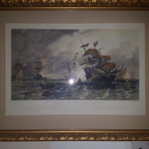 Armada Art - Pair of Etchings