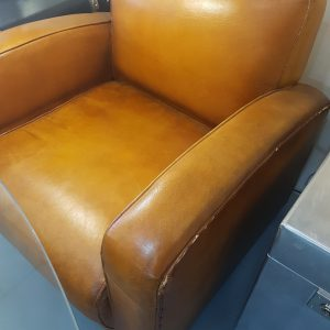 Jazz Brown Leather Chair