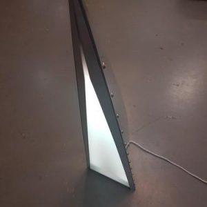 Triangle Light - plane part table light