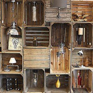 GB Salvage Rustic Crates