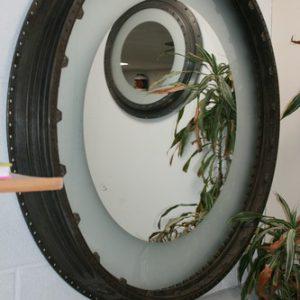 Industrial Mirror - Huge (sold)