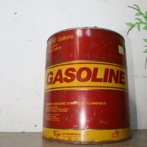 Gasoline Can - table light or floor light base