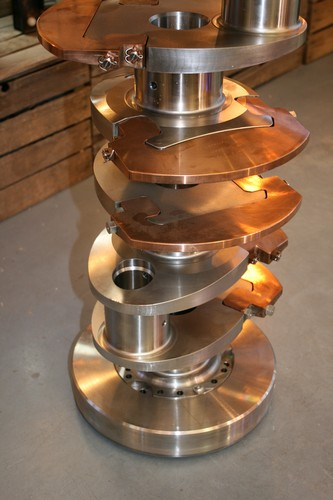 Hunt Class Minesweeper Crankshaft - Table with Clear Toughened Glass