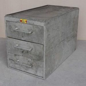 Industrial filing cabinet - 3 drawer