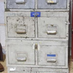 Industrial filing cabinet - 2 drawer