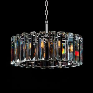 Omega Pendant Light 65cm Crystal