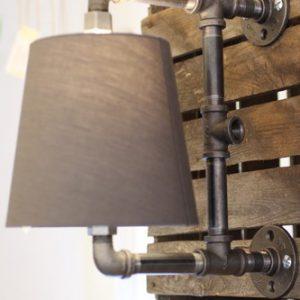 Modern Pipe Wall Light
