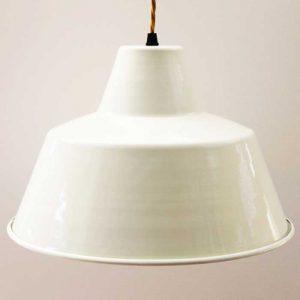 Large Cream Vintage Pendant (GBS262 )