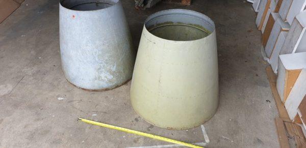 Polished Plane Cones original condition