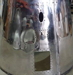 Polished Plane Cone