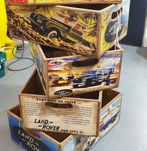 Land Rover Display Boxes