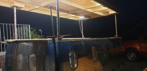 Lighting our Aviator Bar
