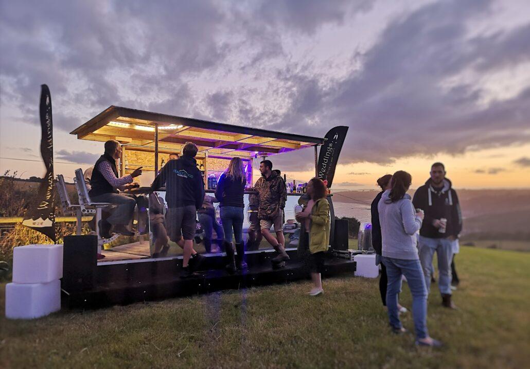 Aviator 747 Bar Launch - Wedding Hires
