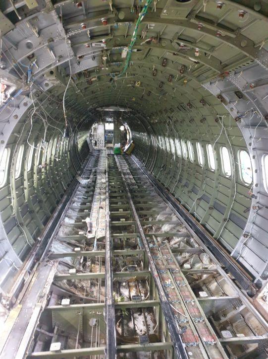 Dash8 Fuselage Interior - GB Salvage